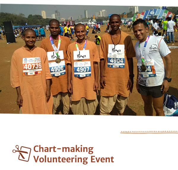 Chart-making Volunteering Event