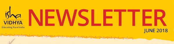 Isha Vidhya Newsletter June 2018