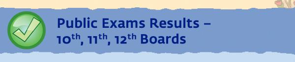 Public Exams Results