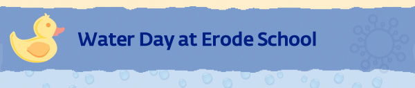 Water Day at Erode School