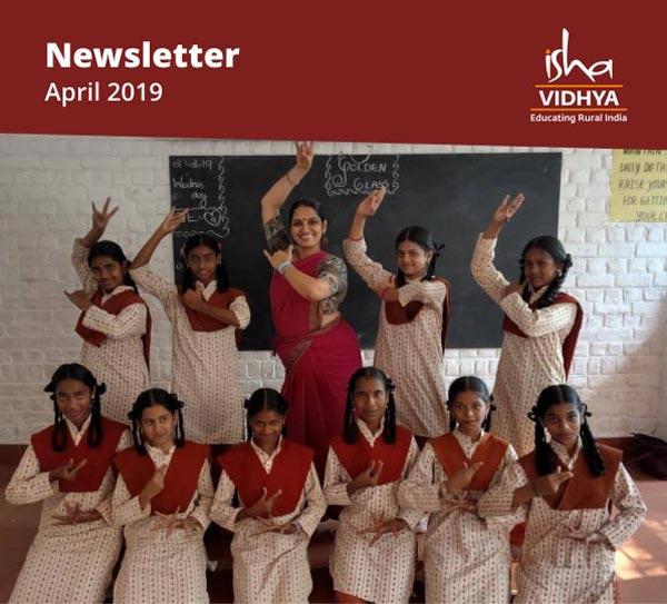 Isha Vidhya Newsletter - April 2019