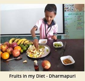 Fruits in my Diet