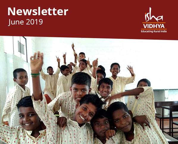 Isha Vidhya Newsletter - June 2019